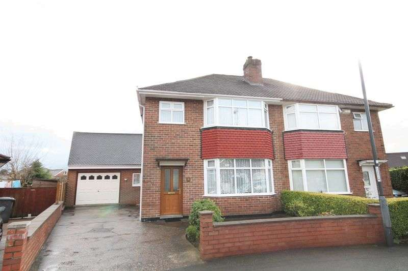 4 Bedrooms Semi Detached House for sale in ROWSLEY AVENUE, DERBY
