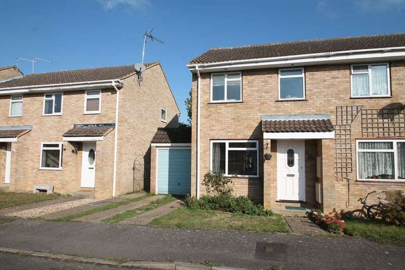 3 Bedrooms Semi Detached House for sale in Dimmock Close, Paddock Wood
