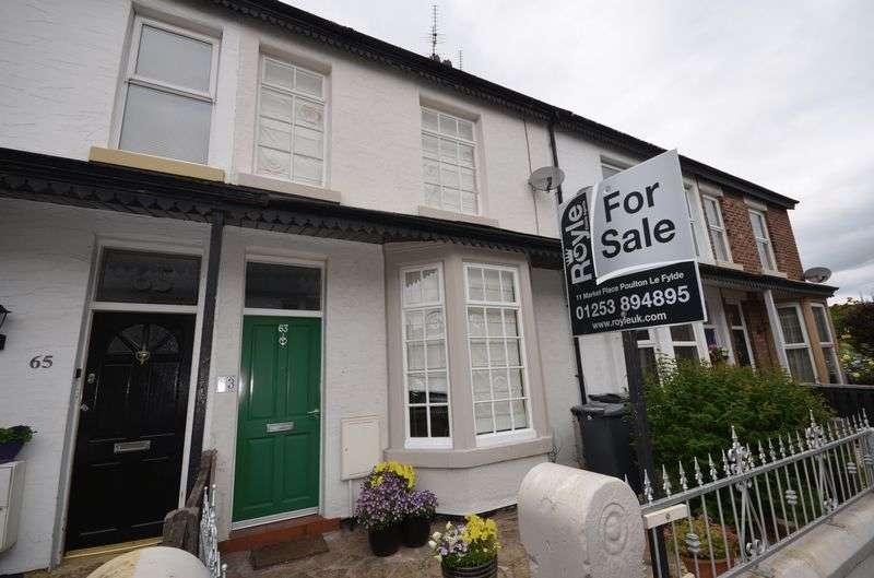 2 Bedrooms Terraced House for sale in 63 Station Road, Poulton Le Fylde, Lancs FY6 7JQ