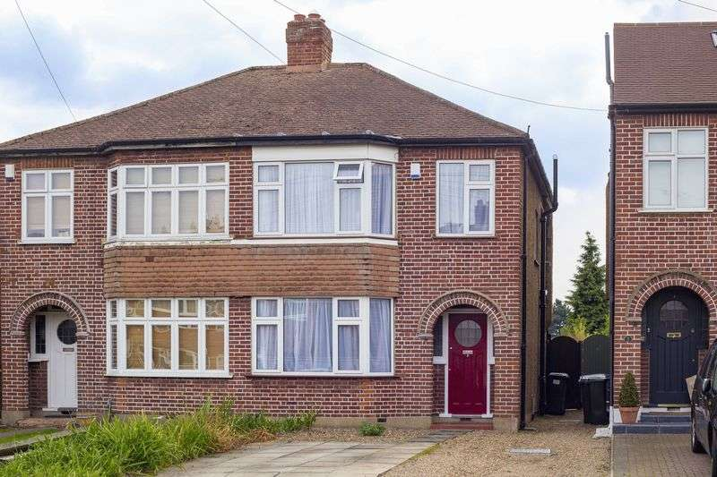 3 Bedrooms Semi Detached House for sale in Burnham Close, Enfield
