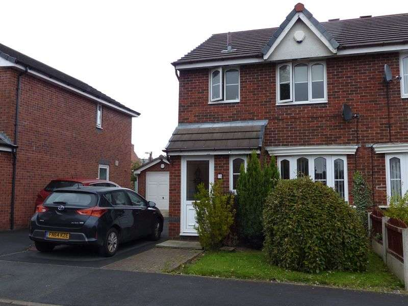 3 Bedrooms Semi Detached House for sale in 21 Evergreen Close, Chorley, PR7 3QB