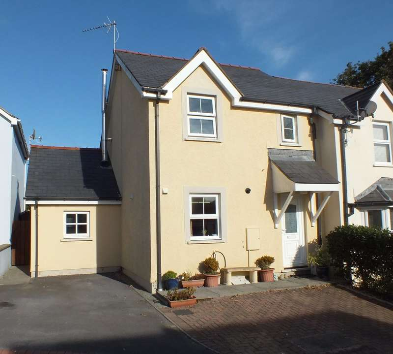 3 Bedrooms Semi Detached House for sale in Ferndale, Saundersfoot, Pembrokeshire