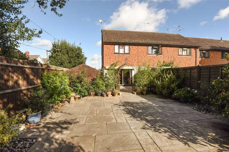 2 Bedrooms End Of Terrace House for sale in Vine House Close, Mytchett, Camberley, Surrey, GU16