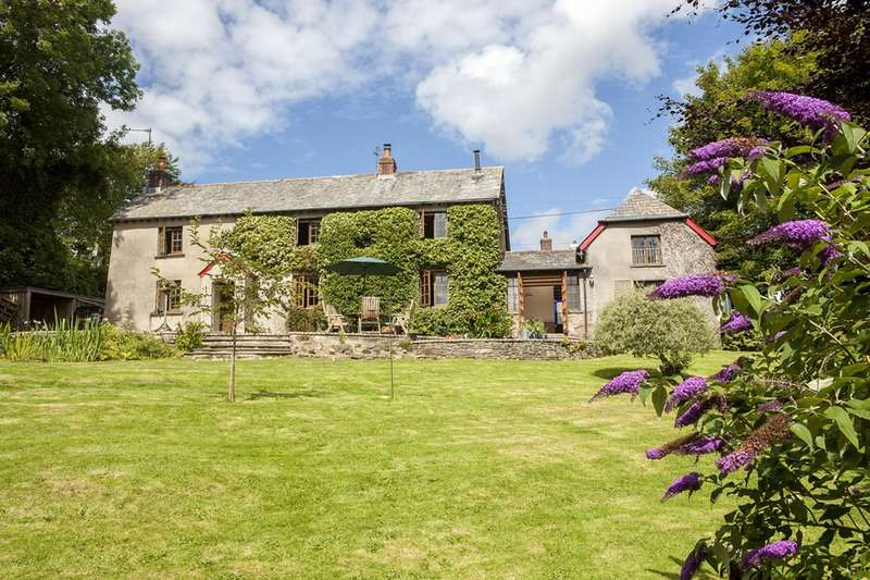 5 Bedrooms Detached House for sale in Germansweek, Beaworthy, Devon, EX21