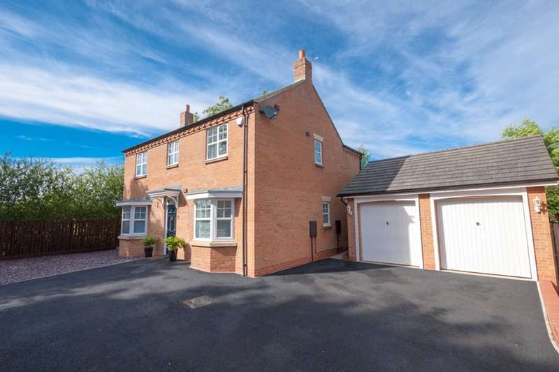 4 Bedrooms Detached House for sale in White House Croft, Stockton-on-Tees, County Durham, TS21