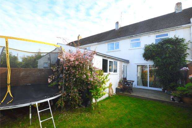 3 Bedrooms Terraced House for sale in Fair View Road, Honiton, Devon