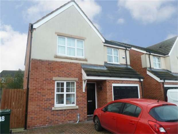 4 Bedrooms Detached House for sale in Valley Drive, Grimethorpe, Barnsley, South Yorkshire