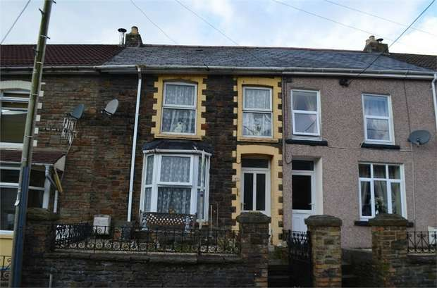 3 Bedrooms Terraced House for sale in Dunraven Place, Ogmore Vale, Bridgend, Mid Glamorgan