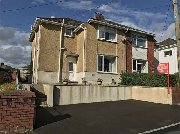 3 Bedrooms Semi Detached House for sale in Gwyn Street, Alltwen, Swansea, West Glamorgan
