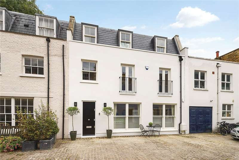 3 Bedrooms Mews House for sale in Napier Place, Kensington, London, W14