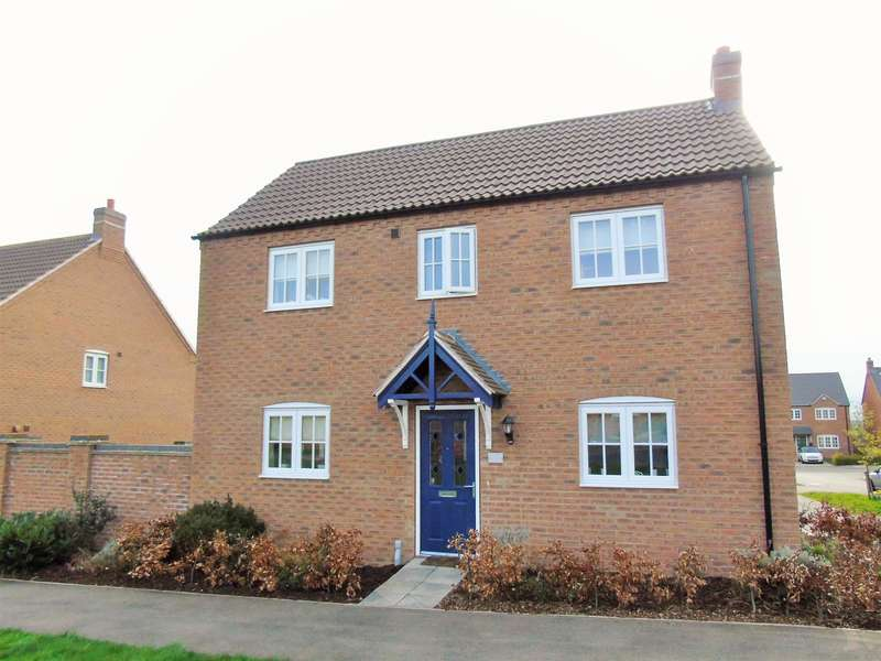 3 Bedrooms Detached House for sale in Knowles Way, Bardney, Lincoln, LN3 5SH