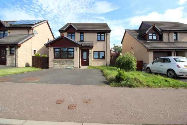 3 Bedrooms Detached House for sale in Castledyke Road, Lanark, Lanarkshire, ML11 8SU