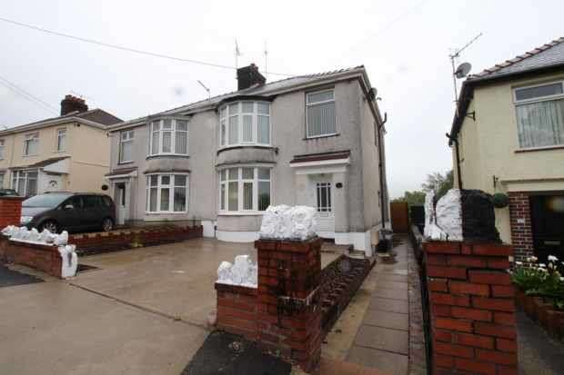 3 Bedrooms Semi Detached House for sale in Compton Road, Neath, West Glamorgan, SA10 6BA