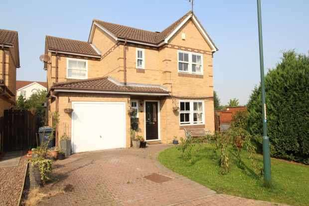 4 Bedrooms Detached House for sale in Yorkwood Hebburn, Hebburn, Tyne And Wear, NE31 1YR