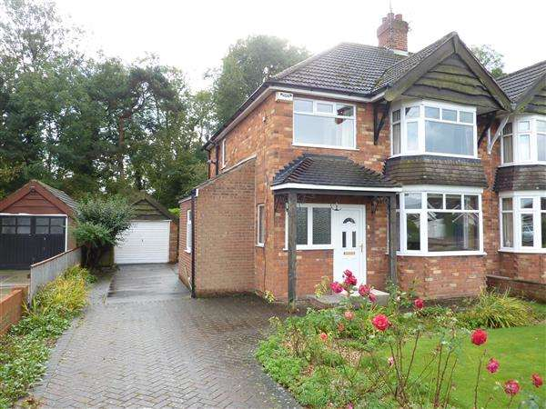 3 Bedrooms Semi Detached House for sale in HUNSLEY CRESCENT, GRIMSBY