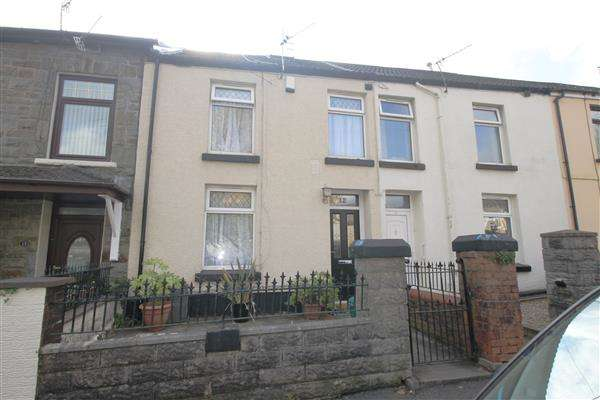 3 Bedrooms Terraced House for sale in Dinam Park Avenue, Ton Pentre, Pentre