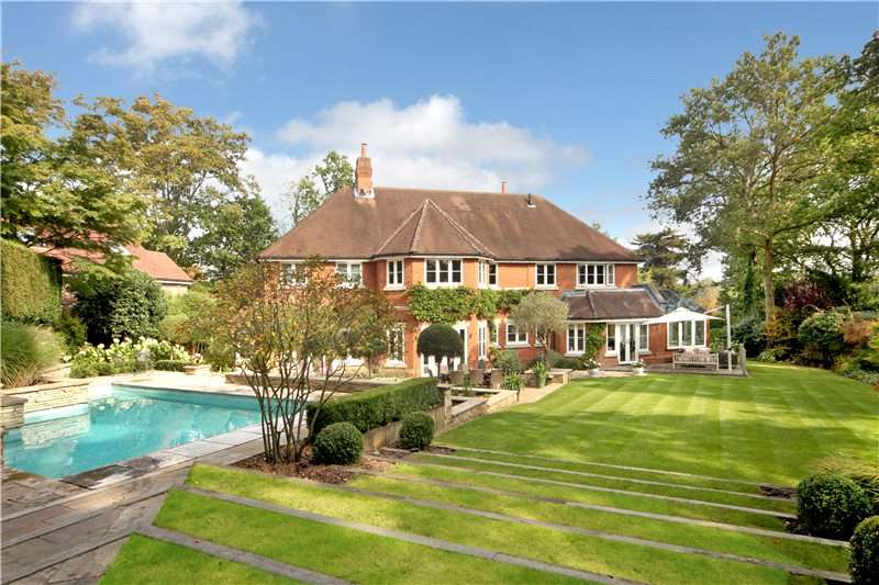5 Bedrooms Detached House for sale in Priory Road, Sunningdale, Ascot, Berkshire, SL5