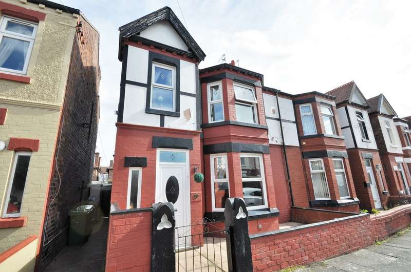 4 Bedrooms House for sale in Shiel Road, Wallasey