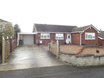 2 Bedrooms Bungalow for sale in Tideswell Close, Staveley, Chesterfield, Derbyshire