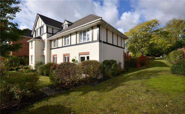 2 Bedrooms Retirement Property for sale in Argyll Court, Clarence Road, Fleet