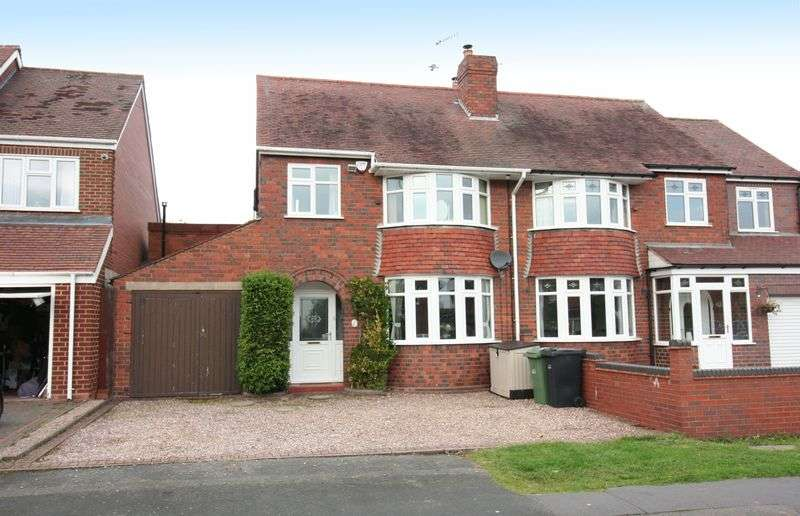 3 Bedrooms Semi Detached House for sale in WORDSLEY, Graham Road