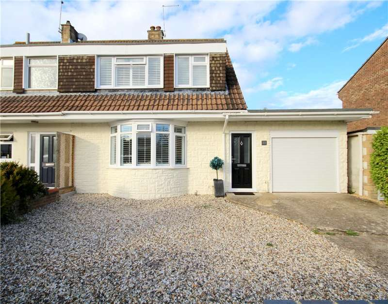 3 Bedrooms Semi Detached House for sale in South Western Crescent, Whitecliff, Poole, BH14
