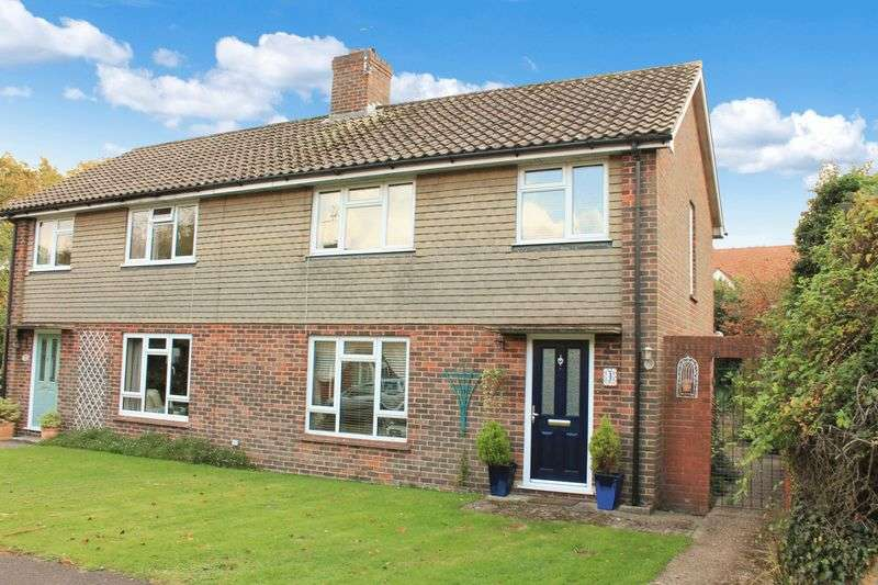 3 Bedrooms Semi Detached House for sale in Wyatt Close, Wisborough Green