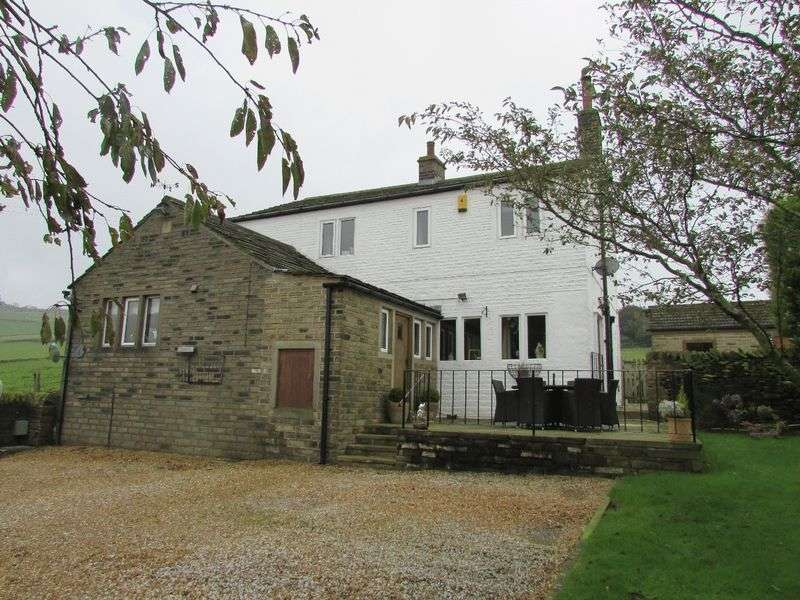 3 Bedrooms Detached House for sale in Abbey Lane, Warley, Halifax