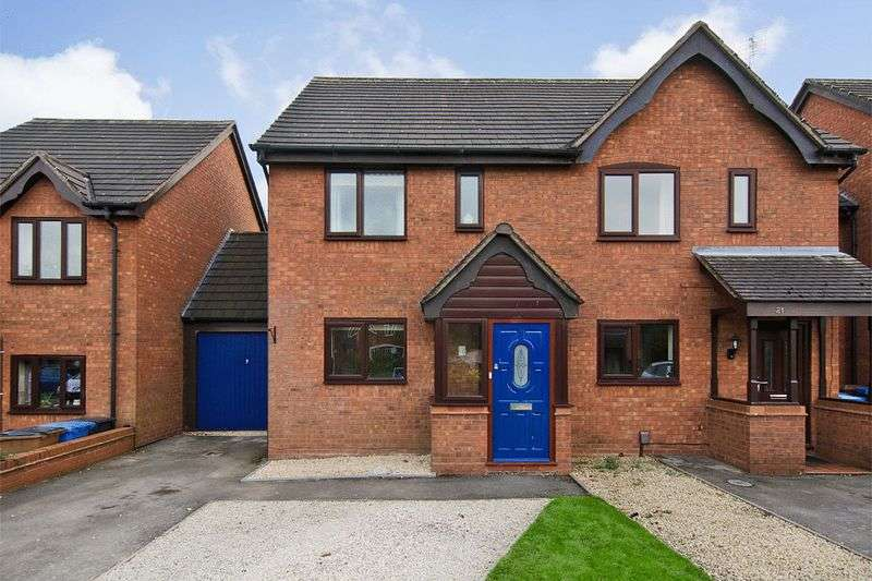 2 Bedrooms Semi Detached House for sale in Peak Close, Armitage