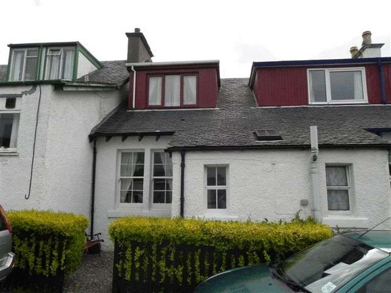 2 Bedrooms Terraced House for sale in 52 INVERARISH TERRACE: 2/3 Beds, island retreat, Raasay