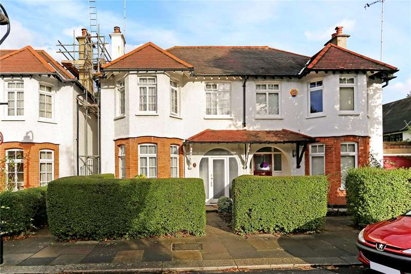 4 Bedrooms Semi Detached House for sale in Woodfield Crescent, Ealing, W5