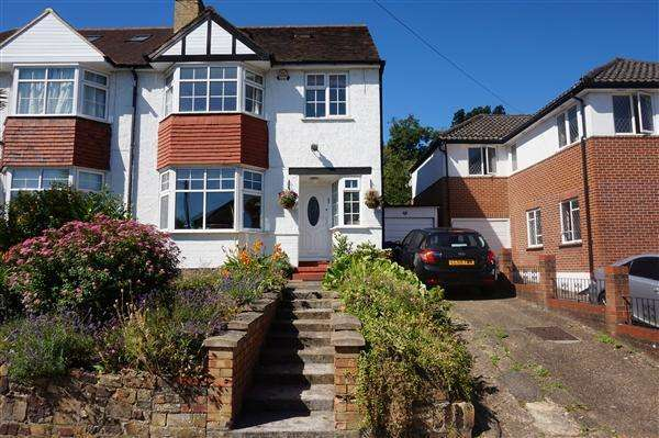 6 Bedrooms Semi Detached House for sale in Whitchurch Gardens, Canons Park