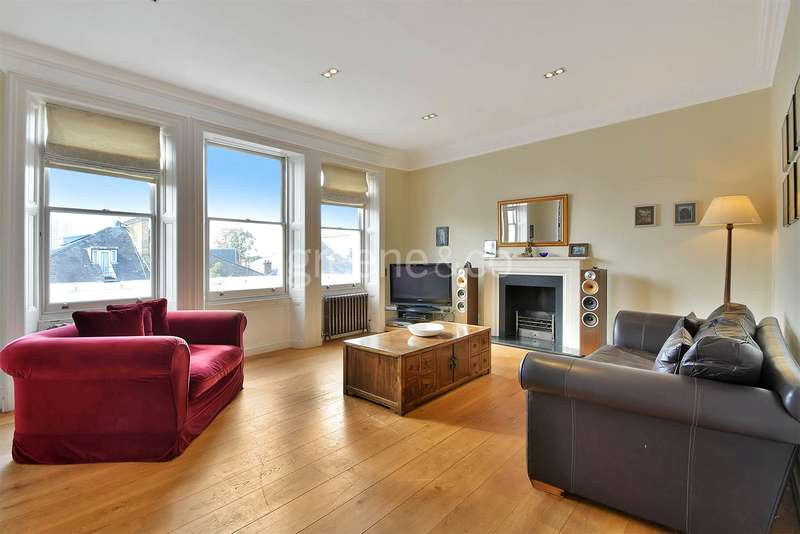 3 Bedrooms Flat for sale in Manor Mansions, Belsize Grove, Belsize Park, London, NW3
