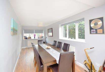 4 Bedrooms Link Detached House for sale in St. Johns Court, Sunnyside, Rotherham, South Yorkshire