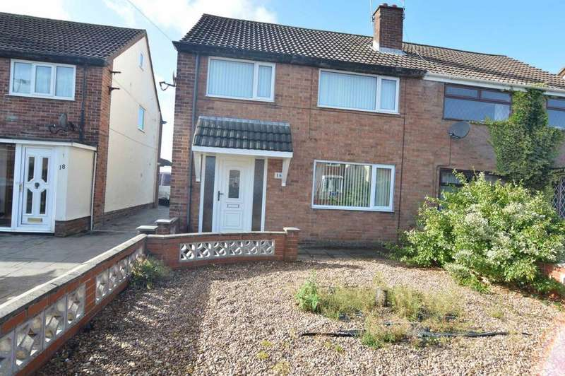 3 Bedrooms Semi Detached House for sale in Fairclough Road, Thornton-Cleveleys, FY5
