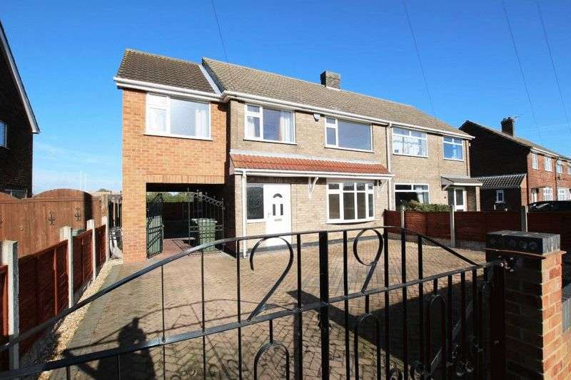 4 Bedrooms Semi Detached House for sale in BREWSTER AVENUE, IMMINGHAM