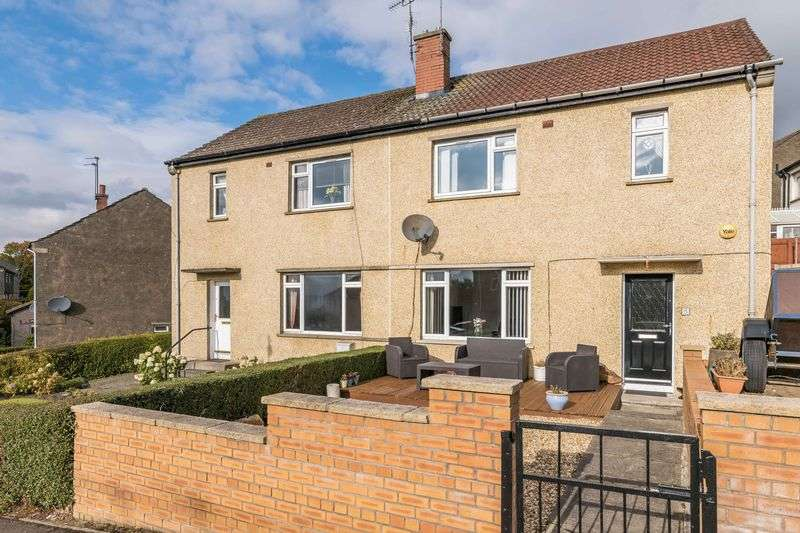 3 Bedrooms Semi Detached House for sale in 5 Vogrie Place, Gorebridge, Midlothian, EH23 4DH