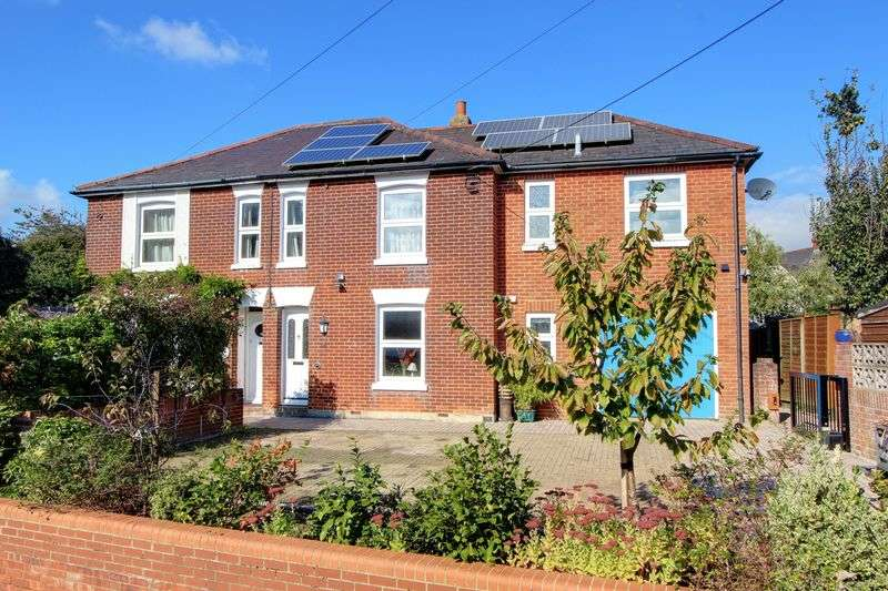 4 Bedrooms Semi Detached House for sale in Botley Road, Romsey, Hampshire