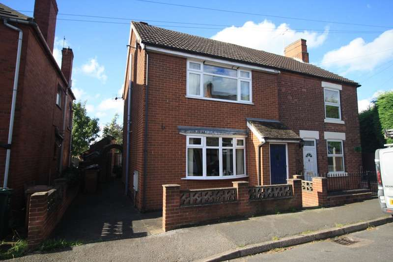3 Bedrooms Semi Detached House for sale in Queen Street, Swadlincote, Derbyshire, DE11