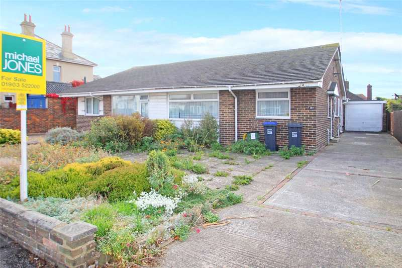 2 Bedrooms Semi Detached Bungalow for sale in Kings Road, Lancing, West Sussex, BN15