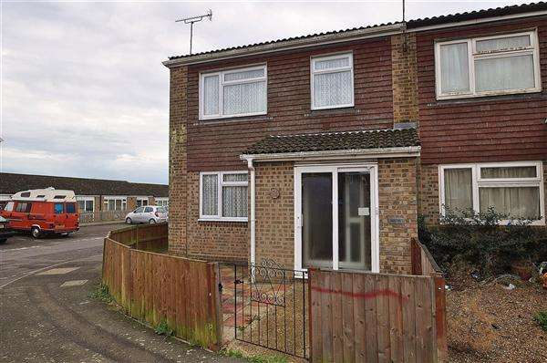 2 Bedrooms End Of Terrace House for sale in Ashford TN24