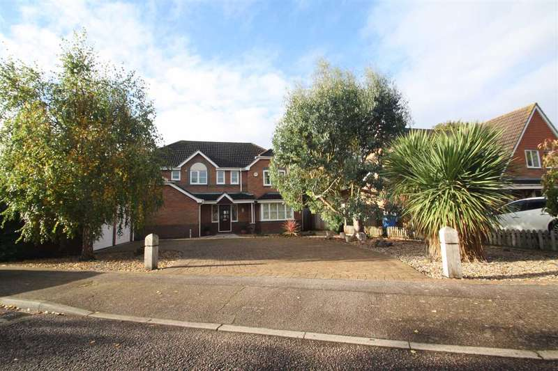5 Bedrooms Detached House for sale in Berkeley Close, The Albany, Ipswich