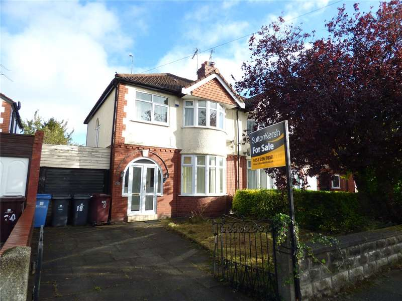 3 Bedrooms Semi Detached House for sale in Briar Drive, Liverpool, Merseyside, L36