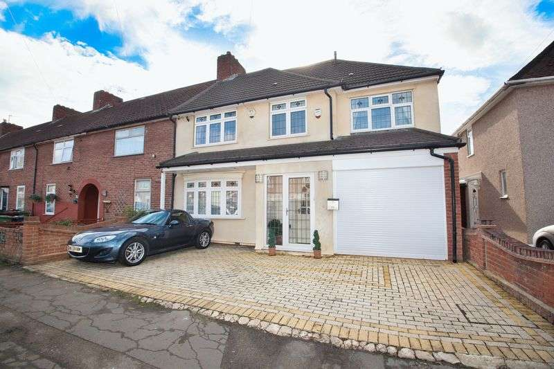 4 Bedrooms Semi Detached House for sale in Marlborough Road, Dagenham, Greater London