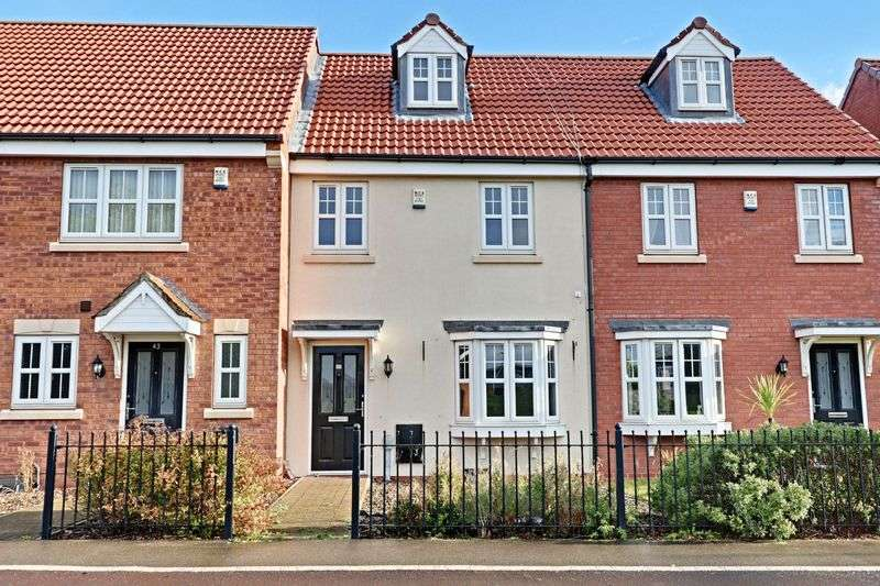 3 Bedrooms Terraced House for sale in Pools Brook Park, Kingswood