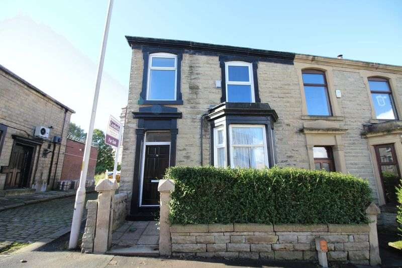 3 Bedrooms Terraced House for sale in Redearth Road, Darwen. 3 BEDROOMS, 2 RECEPTIONS