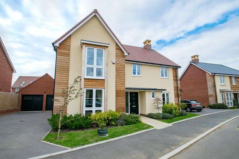 5 Bedrooms Detached House for sale in Great Blakelands, Marston Moretaine