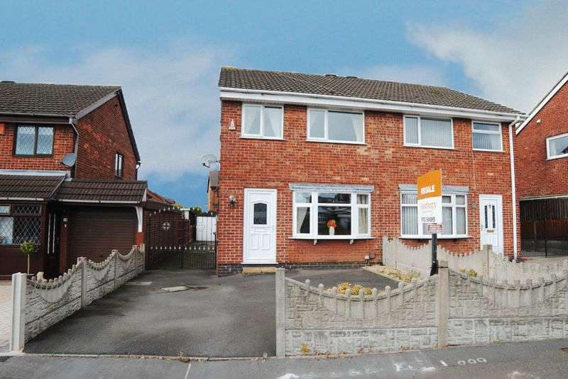 3 Bedrooms Semi Detached House for sale in Sitwell Grove, Meir Hay, Stoke-On-Trent, ST3 1SY