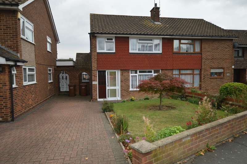 3 Bedrooms Semi Detached House for sale in Beechings Way, Gillingham, Kent, ME8