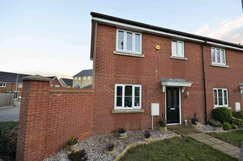 2 Bedrooms End Of Terrace House for sale in School Path, Laindon